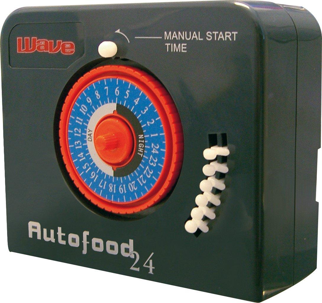 Wave Autofood 24 Distributeur Automatique de Nourriture pour Aquariophilie A6076226