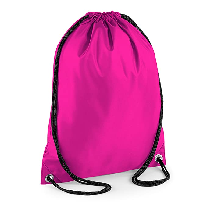 PLAIN DRAWSTRING BAG BACKPACK SCHOOL BOOK PE P.E GYMSAC KIDS BOYS GIRLS