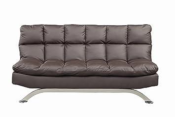 furniture of america adelle convertible sofa futon dark expresso amazon    furniture of america adelle convertible sofa futon      rh   amazon