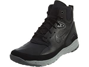 new product fd67f d61de Nike Mens Koth Ultra Mid Boots High Top Black Silver Mens