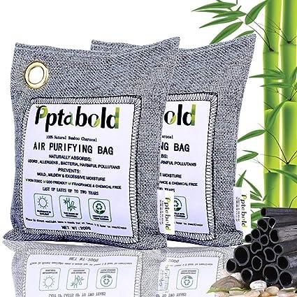 Pptabold - Bolsa purificadora de aire natural, reutilizable ...