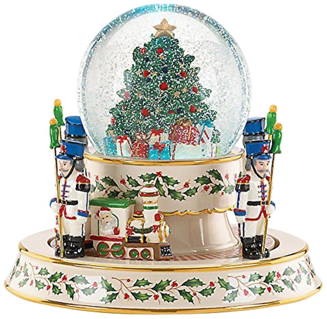 Lenox Holiday Train Snowglobe Centerpiece