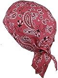 Fitted BANDANA Pink Paisley