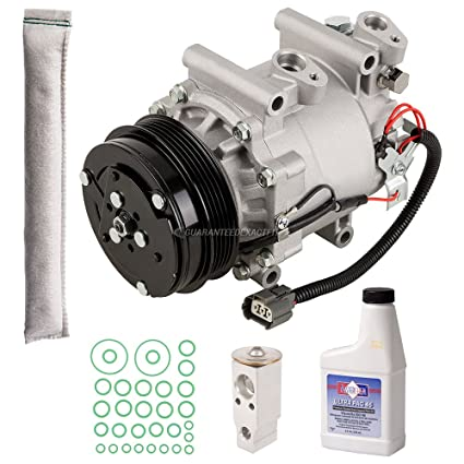 AC Compressor w/A/C Repair Kit For Honda Fit 2007 2008 - BuyAutoParts  60-81676RK NEW