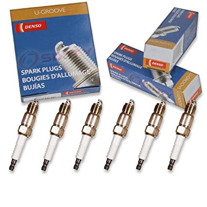 Amazon.com: 6 pcs Denso Standard U-Groove Spark Plugs 1994-1995 Chevrolet K1500 4.3L V6: Automotive