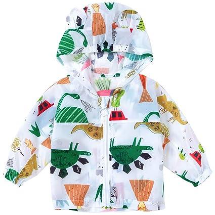 81d1c2b3aa937 Bébé Manteau de protection solaire Été Vestes à Capuche Unisexe De plein  air Manteaux à capuchon