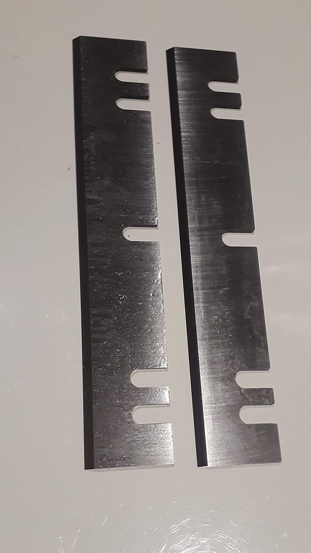 jeu de 2 fers 200 mm r/éaffutables rabot Kity 635