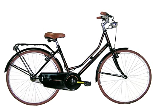 Frejus Bristol Bicicletta Da Città Donna Nero M