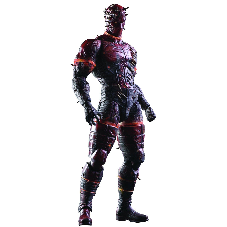 Square Enix Metal Gear Solid V The Man on Fire Play Arts Kai Action Figure Diamond Comic Distributors APR158287 The Phantom Pain