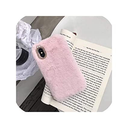Amazon Com Fluffy Case For Iphone X Xs Xs Max Xr Winter
