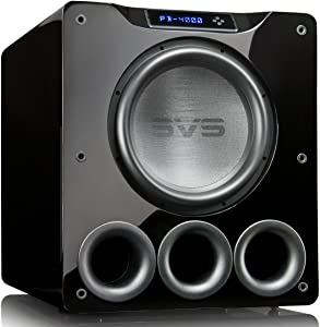 SVS PB-4000 Subwoofer (Piano Gloss Black) – 13.5-inch Driver, 1,200-Watts RMS, Ported Cabinet, App Control