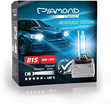 Whitevision Pk32d 2 2x D1s 35 W 85 V 8000 K Diamond Vision Hid Bi Xenon Bulbs White Super Bright Laser Kit Nightbreaker Extreme Vision Ultra Blue Hyper Duobox Gas Discharge Lamp Auto