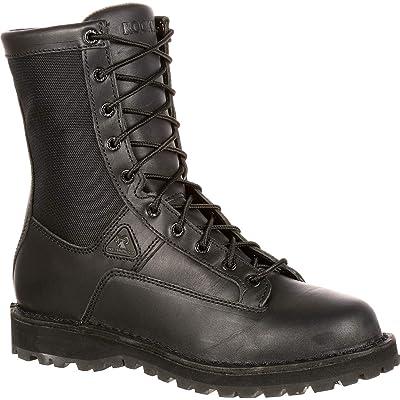 "ROCKY Men's 8"" Portland 2080   Industrial & Construction Boots"