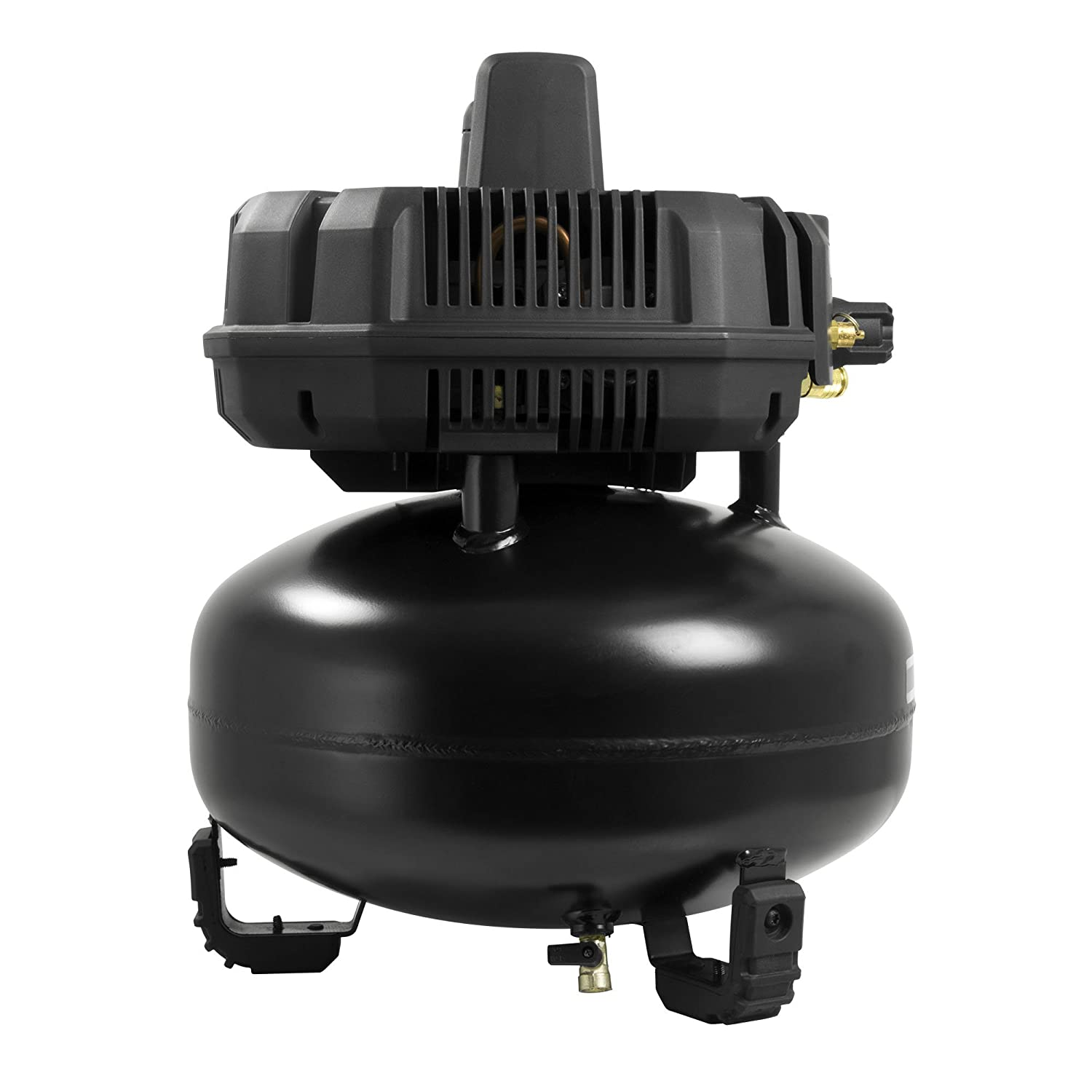 The pump and motor are also covered to ensure durability even on rough job sites.