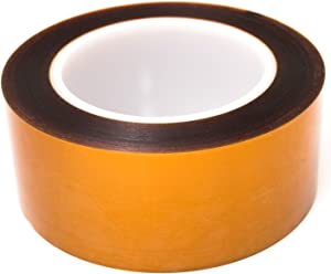 "Bertech Double Sided Polyimide Tape, 2"" Wide x 36 Yards Long, 1 Mil Thick on a 3"" Core"