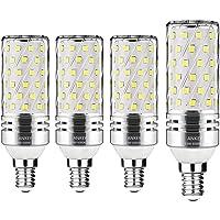 Lampadine LED di mais, E27 candelabro a LED da 15 W, 120W equivalenti a incandescenza, Bianca Calda 3000K 1500LM, CRI>80+, non dimmerabile,Edison Lampadine Mais-4 pezzi