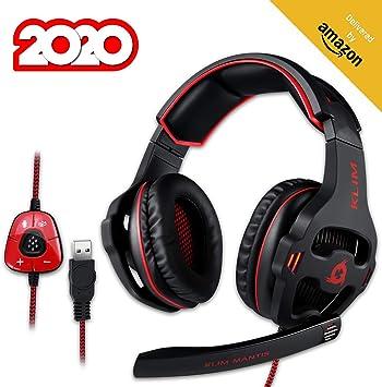 ⭐️KLIM™ Mantis - Cascos gaming con micrófono: Amazon.es: Electrónica