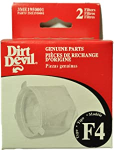 Dirt Devil F4 Scorpion Cordless HV Filter