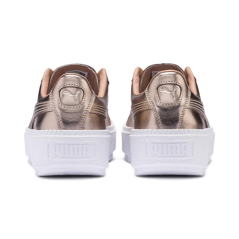 390f11ec37f674 Puma Basket Platform Trace Luxe Damen Sneaker  Amazon.de  Schuhe    Handtaschen