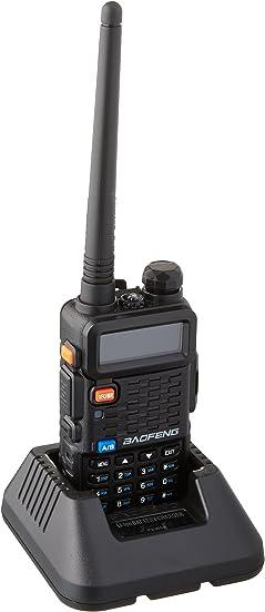 Dual Band V//UHF 136-174MHz/&400-520MHz Ham Radio Gift Earphone Baofeng BF-F8