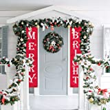 WizPower Merry Bright Christmas Banner, Merry