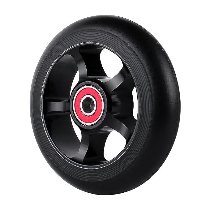 Amazon.com: 2pcs rueda de 100 mm Pro – Patinete Scooter de ...