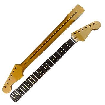 Stratocaster Cuello, diseño retro de palisandro diapasón (acabado brillante)