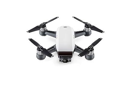 5c6964bfaa Amazon.com: DJI Spark, Fly More Combo, Alpine White: Camera & Photo