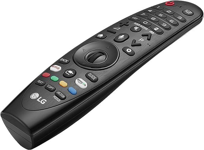 LG Magic Control AN-MR18BA - Mando a Distancia (Reconocimiento de Voz, apunta y navega, Rueda de Scroll, Botones Netflix y Amazon, Teclado numérico) Color Negro: BLOCK: Amazon.es: Electrónica