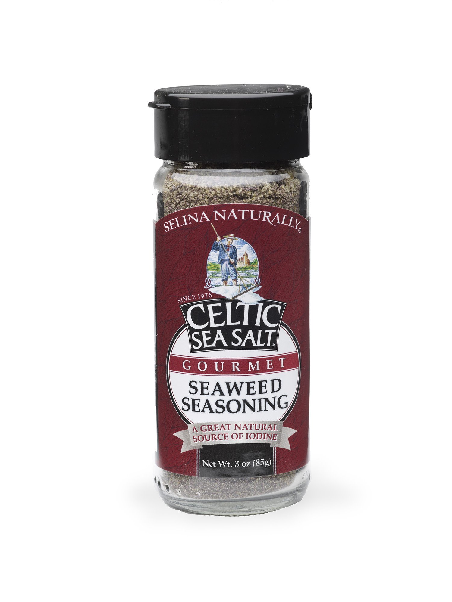Celtic Sea Salt Gourmet Seaweed Seasoning Shaker, 2.7 Ounce
