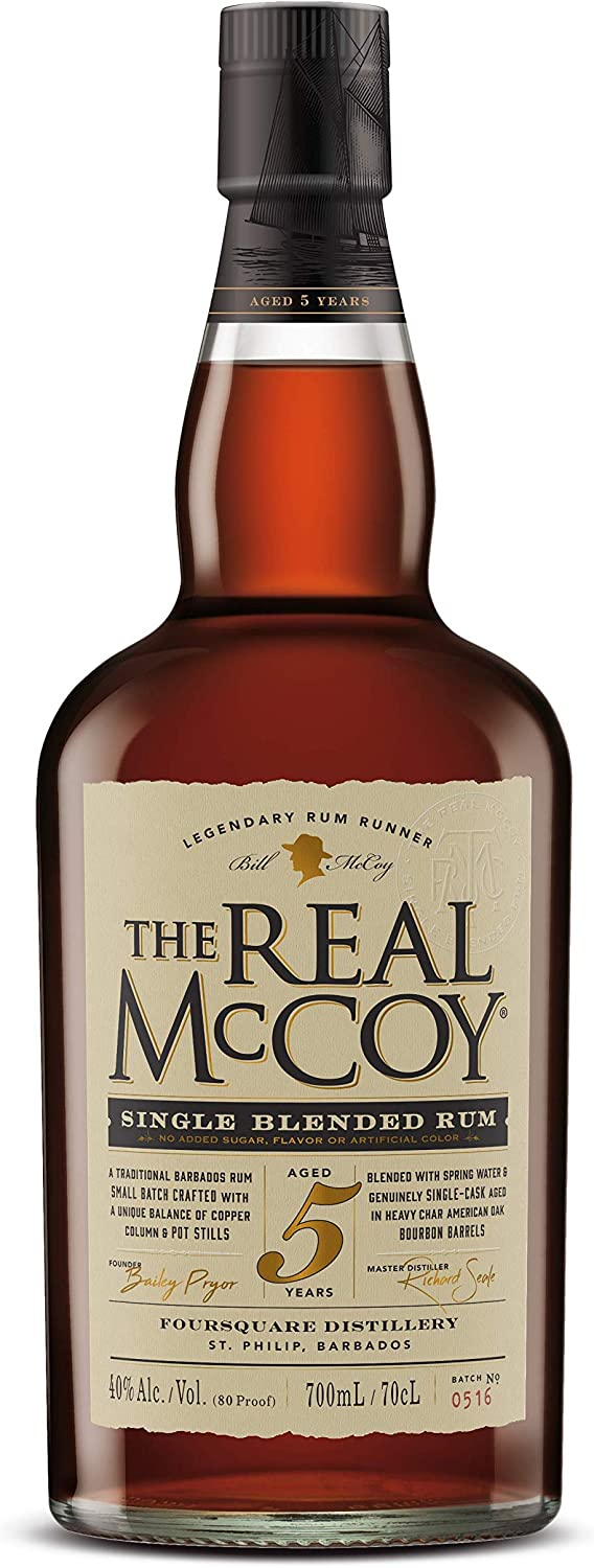The Real Mccoy Ron Real Mccoy 5 Years Old 40º - 700 ml