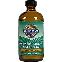 Garden of Life Olde World Icelandic Cod Liver Oil (Lemon Mint Flavour, 237ml Oil), 1 Units
