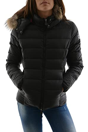 Doudoune A Capuche Jott Luxe Grand Froid Noir Amazon Fr Vetements