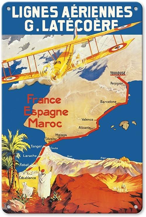 Pacifica Island Art France - España - Marruecos - Lignes Aeriennes ...