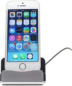 Eximtrade Cargador Dock Soporte para Apple iPhone 55s66s