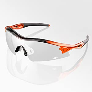 ToolFreak Reevo Safety Glasses Clear Lens for Work and Sport, UV and Impact Eye Protection, Safety Rated to Ansi Z87+, Distortion Free, Hard Case, Water Repellent Pouch, Neck Cord and Cloth