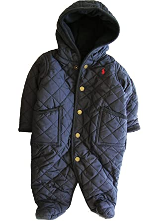 a61f2c705 Polo Ralph Lauren Baby Boys  Quilted Bunting Snowsuit