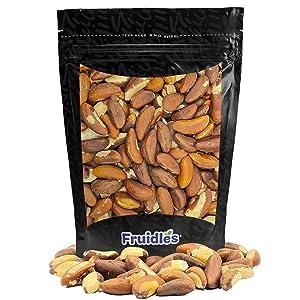 Raw Brazil Nuts, Non-GMO, Gluten-Free, Healthy Fat, Emergancy Food, Survival Food (Half-Pound)