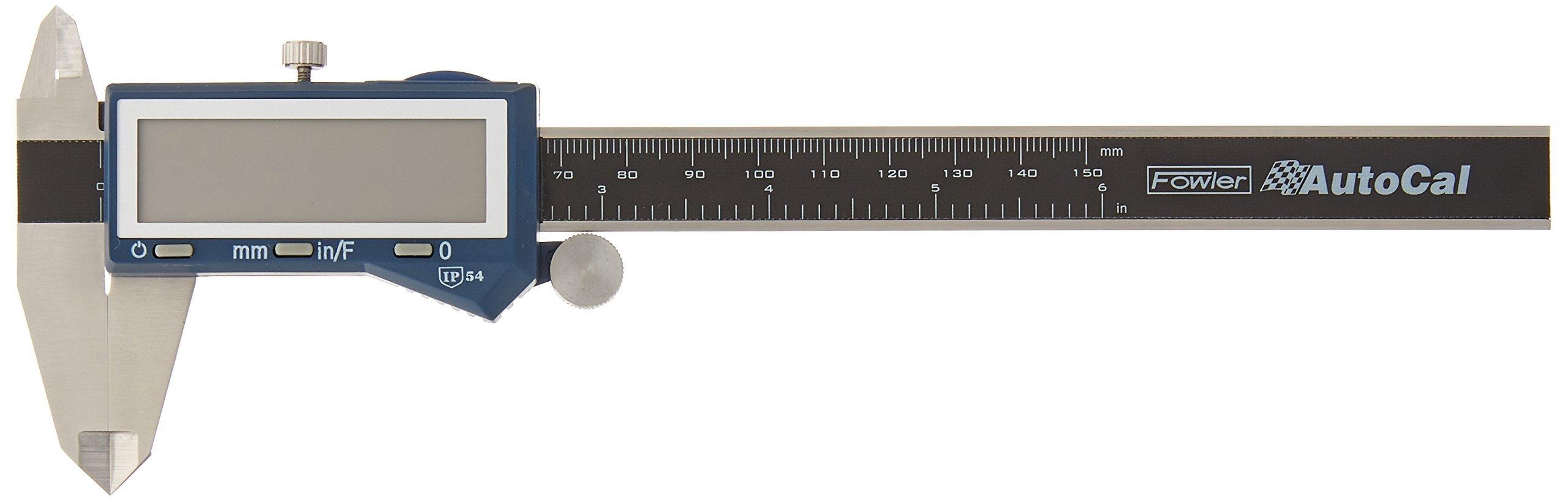 Fowler FOW74-102-006 Electronic Caliper (AutoCal 6'' Fractional)