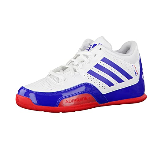 adidas 3 Series 2015 NBA K - Zapatillas para niño, Color Blanco/Azul/Rojo, Talla 28: Amazon.es: Zapatos y complementos