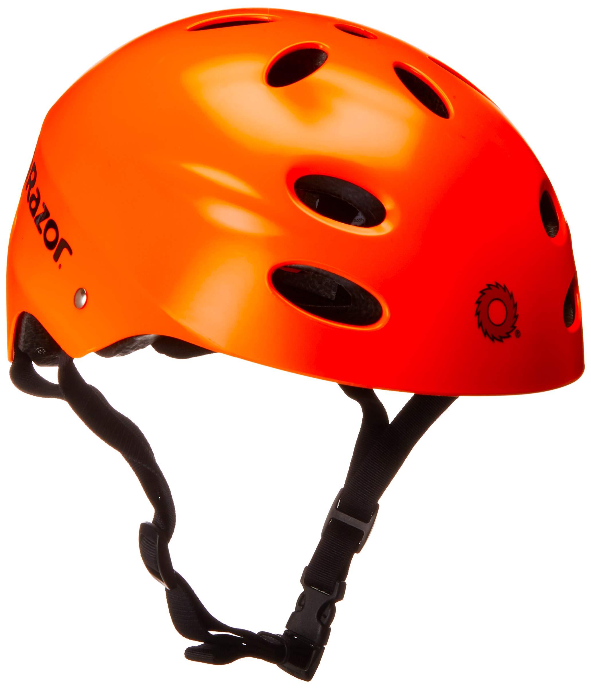 Razor 97265 V-17 Youth Muli-Sport Helmet, Neon Orange