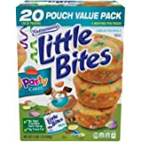 Entenmann's | Little Bites | Party Cakes | 20 Pouches 80 Muffins | 4 Muffins in each Pouch | Delicious | Yummy | Tasty | Net WT 2 LB 1 oz (936g) | 1 Box |