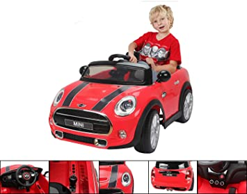 6v electric car red electric for children