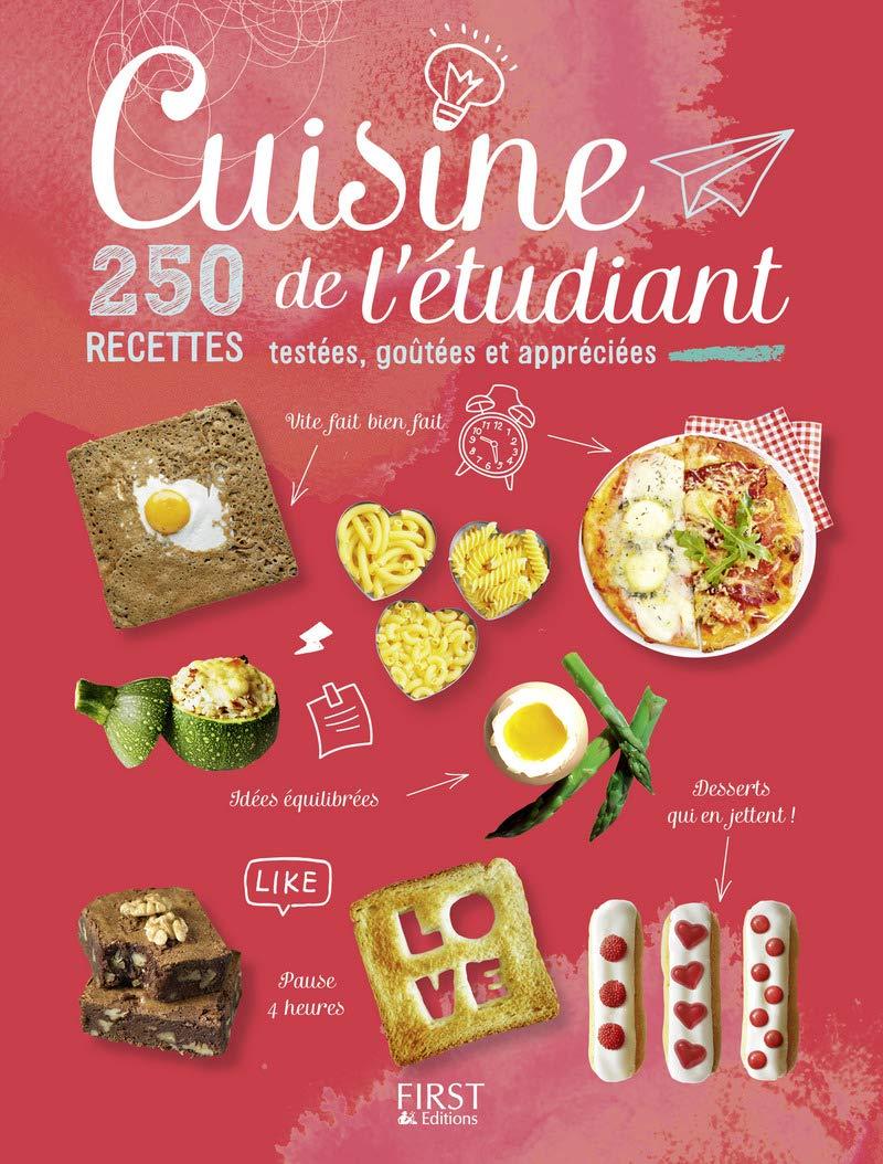 Idee Recette Etudiant.Amazon Fr Cuisine De L Etudiant 250 Recettes Testees