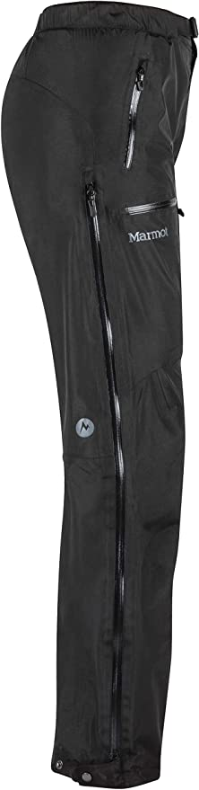 Hombre Pantalones de Lluvia Marmot Eclipse Pant Impermeables Transpirables Prueba de Viento