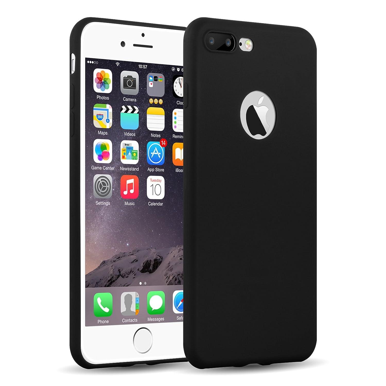 Cover iPhone Siliconata Nera