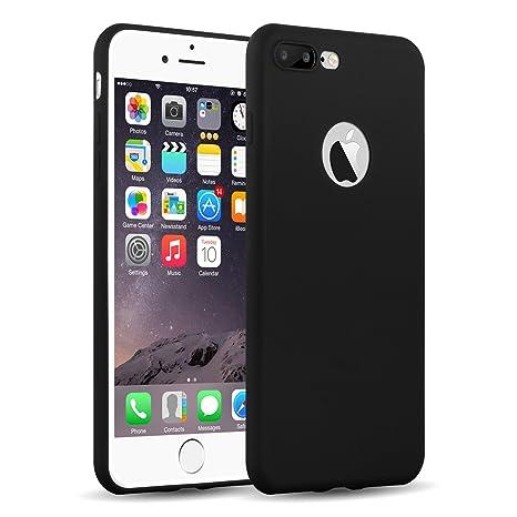 custodia iphone 8 nera opaca