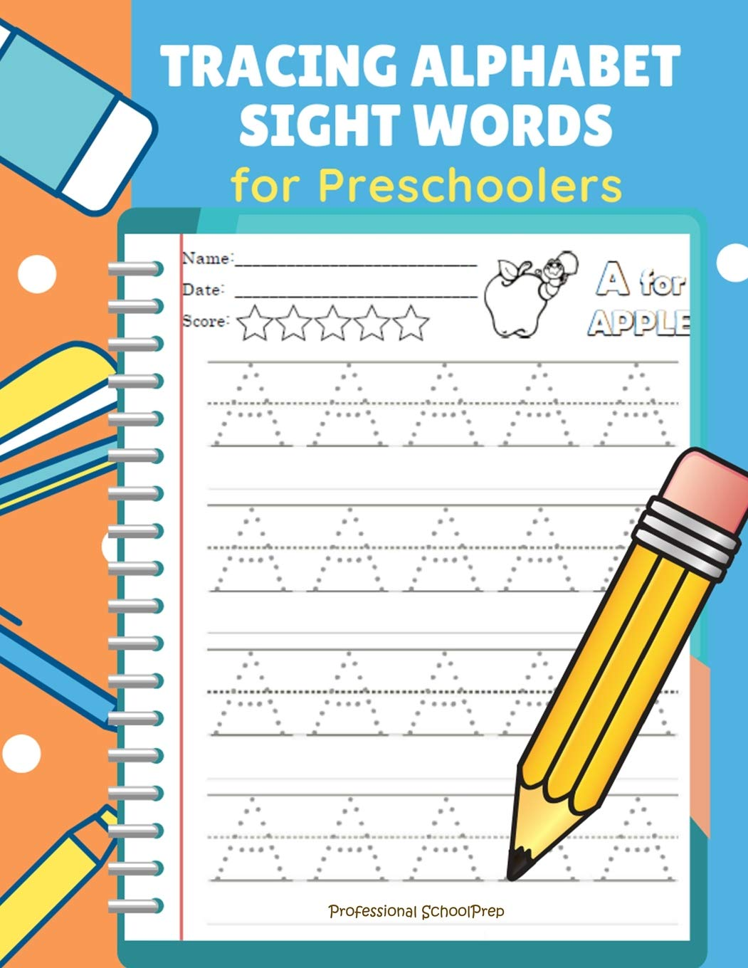 Tracing Alphabet Sight Words for Preschoolers: Teach your ...