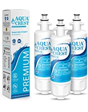 AQUACREST LT700P, 9690 NSF 53&42 Certified Refrigerator Water Filter, Compatible with LG LT700P, Kenmore 9690, 46-9690, ADQ36006101, ADQ36006102 (Pack of 3)