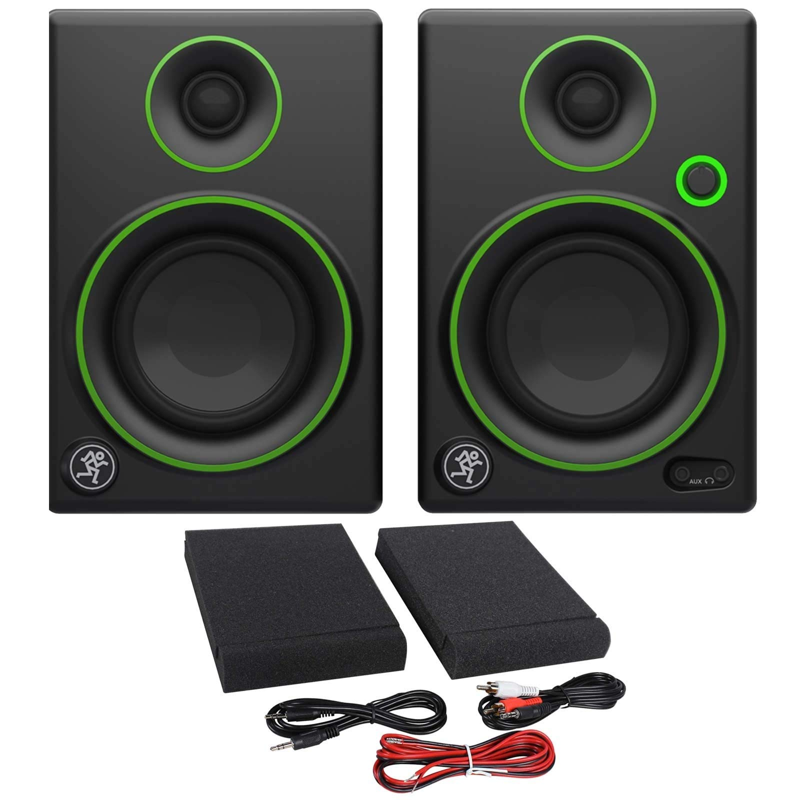 Mackie CR3 3'' Creative Reference Multimedia Monitors Bundle with Mackie Onyx Artist 1-2 USB Audio Interface and Tascam TH-02 Closed Back Studio Headphones by Circuit City (Image #6)